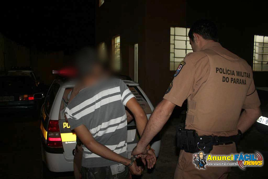 Os  furtos estão relacionados com o tráfico de drogas, diz a PM
