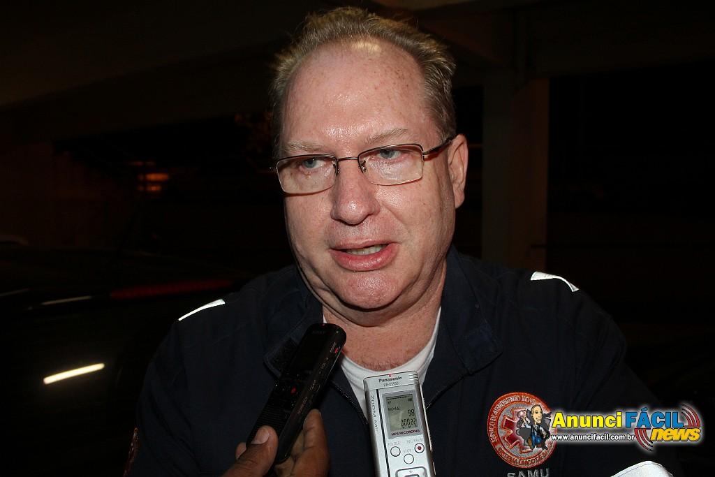 Dr. Gilmar Lavorato, médico do SAMU,